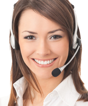 Smile in a Call center phone interaction