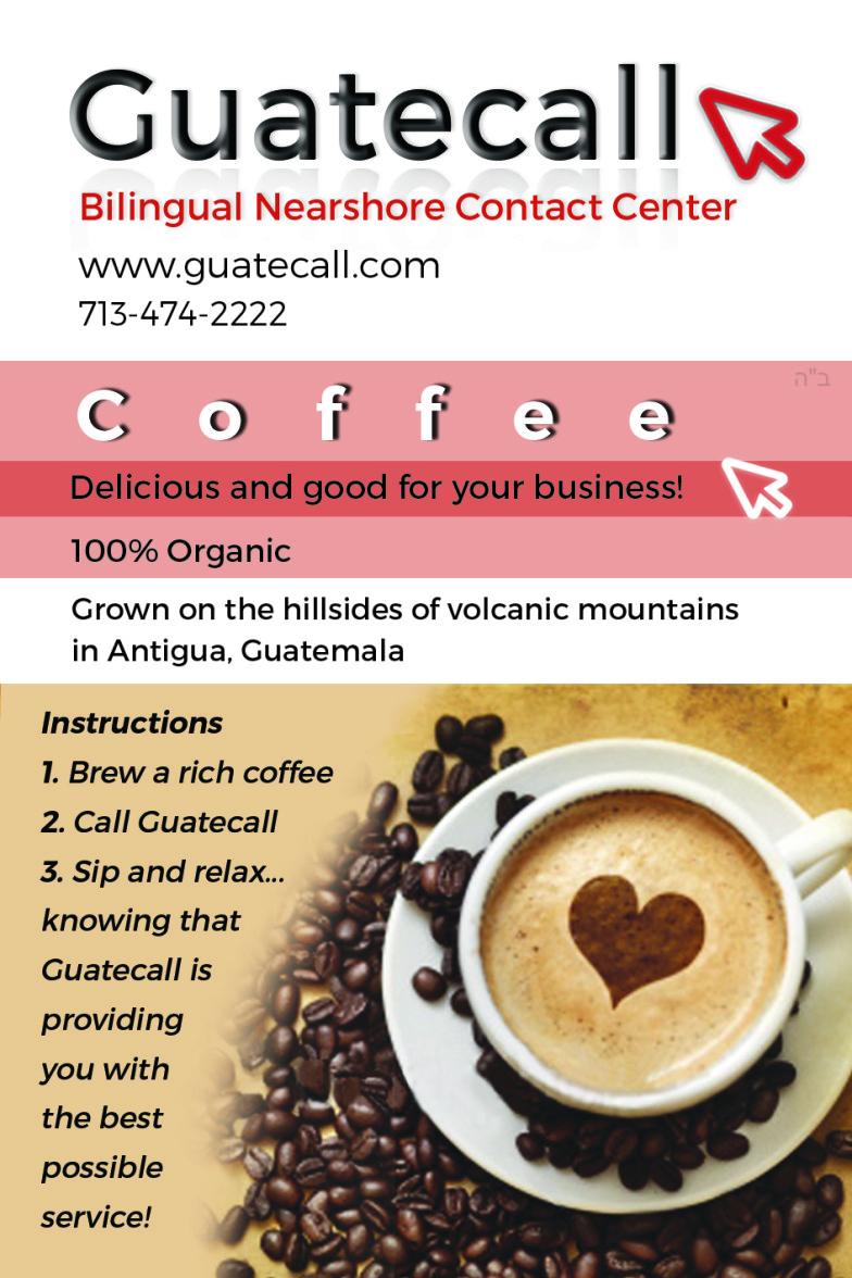 Quality Customer Service, Quality Coffee